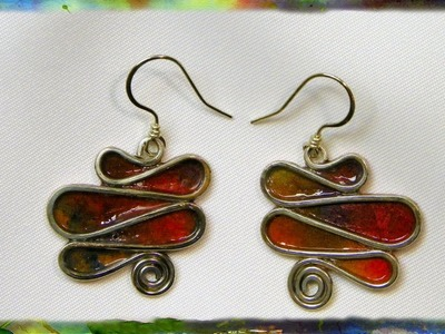 How to Make Elegant Serpentine Earrings