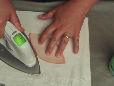 How to prepare hand applique