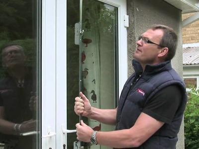 HOW TO .Repair a UPVC door , Repair a patio door,Fix  a uPVC door