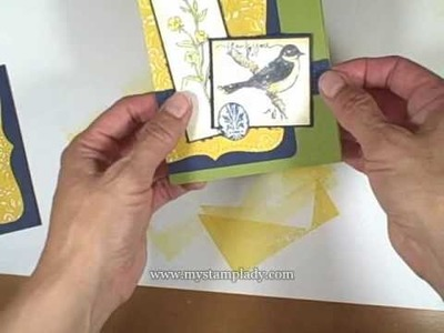 How To Sand an Embossed Image