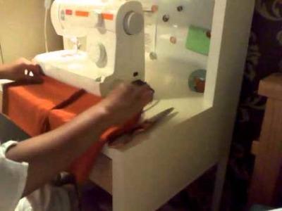 How to sew a belt salwar - pt 3