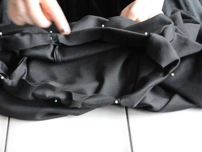 How to sew harem pants