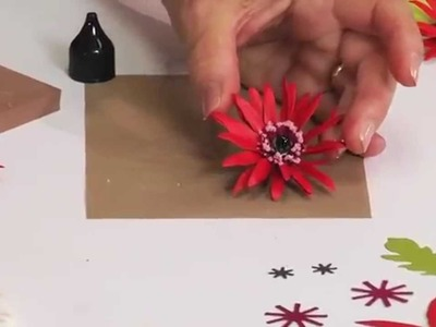 How to Use Sizzix Thinlits Gerbera Daisy Die