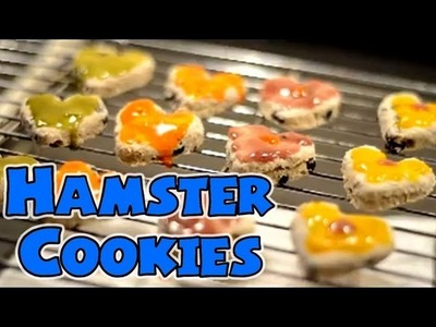 """ICED"" HAMSTER COOKIES 