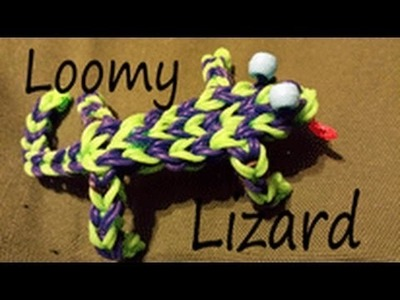 Loomy Lizard Rainbowloom by Cheryl Mayberry