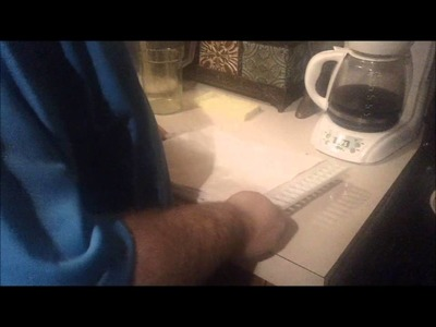 Make Homemade Paper. .Takes less than 10 minutes!