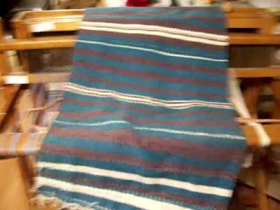 Nancy Today: Fabric I have woven on my floor loom ASMR non-profit