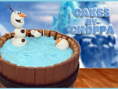 OLAF Kit-Kat Cake | Disney's FROZEN (How To)