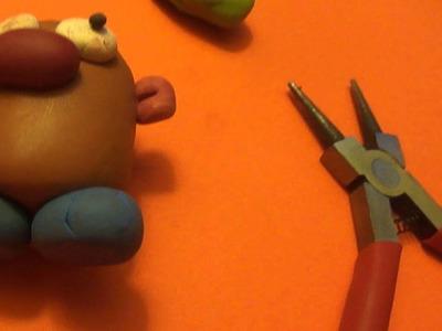 [Original vid] Mr.Potato Head (from toy story) polymer clay tutorial