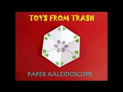 PAPER KALEIDOSCOPE - ENGLISH - Fun paper toy!