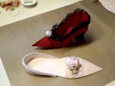 Paper Shoe Tutorial Pt. 1