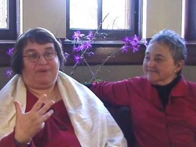 Part 2: Sharon Salzberg & Sylvia Boorstein on universal compassion, Garrison Institute, Dec. 2008