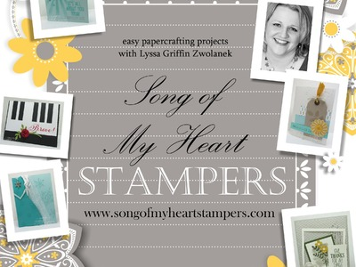 Pinwheel Fold Card Tutorial Song of My Heart Stampers