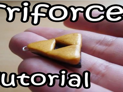 Polymer Clay Tutorial: How to Make a Triforce from The Legend of Zelda