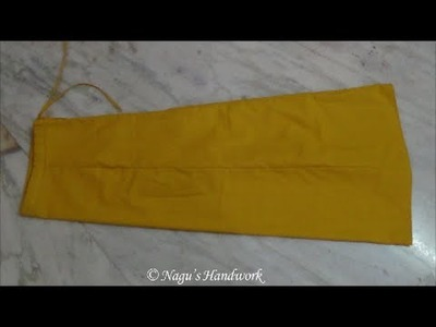 Saree Petticoat Measurement and Stitching-Inskirt cutting and Stitching By Nagu's Handwork