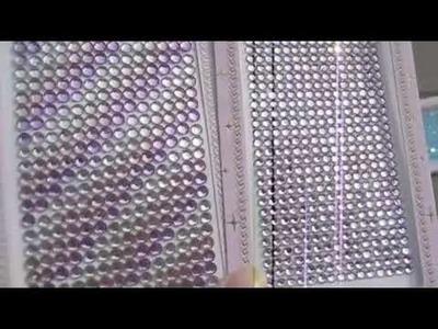 Swarovski Grade Crystal Sticker Sheets and Preciosa Crystals Shine and Dazzle