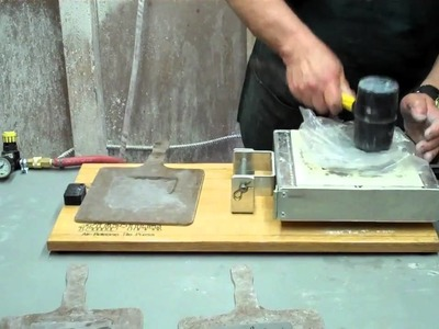 Texas Tiler Air Release Ceramic Tile Press Video 1