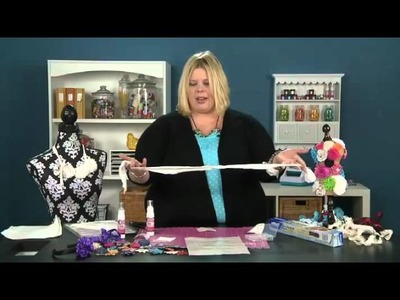 Tip of the Day: Technique Thursday - Rolled Fabric Roses