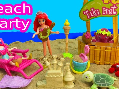 Tropical Beach Party Playset Ocean in My Pocket Disney Queen Elsa Ariel The Little Mermaid Magiclip