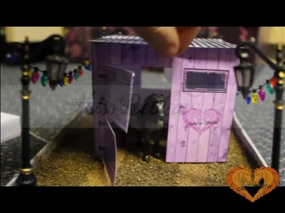 {Tutorial} How to: Make a Breyer Stable- Stablemate Scale in mins