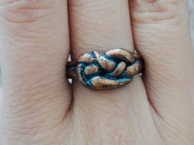 Tutorial:Polymer Clay Ring 2