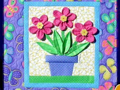 "Video Tutorial: ""Bloom'n Fun"" Quilt Part 2"