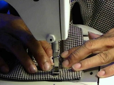 Video Tutorial: How to Add Waistband, Ban Roll and Clamp Hook and Eyes to Trousers Part 2