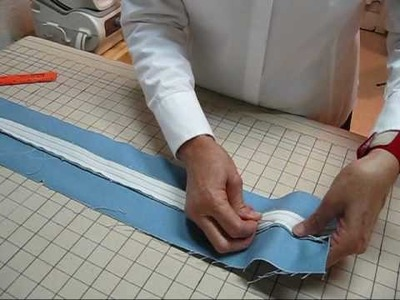 Zipper with Placket - Part 3