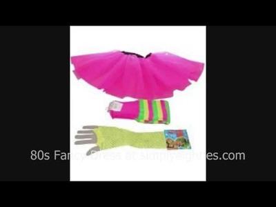 80s Costume Ideas for Ladies