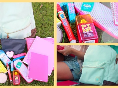 Back to School ♡ What's in My Backpack + Essentials