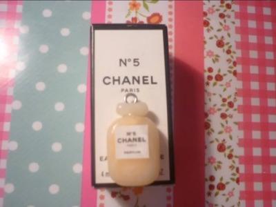 Chanel n°5 tutorial (Polymer Clay)