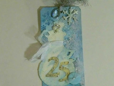 Day 4:  Tim Holtz' 12 Tags of Christmas 2011