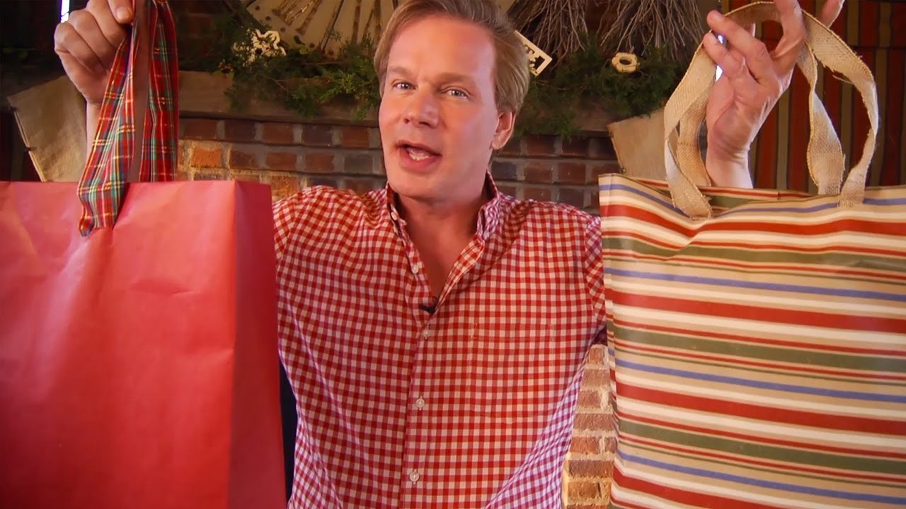 DIY Holiday Gift Bags | At Home With P. Allen Smith