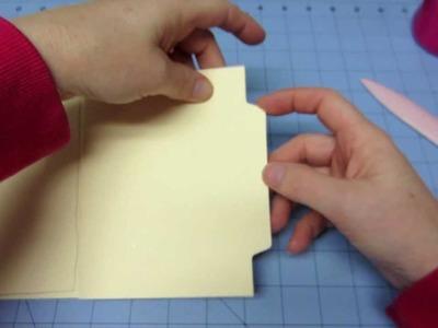 File Folder Mini Tutorial; Part 1