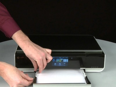 Fixing a Paper Jam - HP Envy 100 e-All-in-One Printer (D410a)