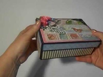 Graphic 45 Botanical Tea Boxed Mini Album