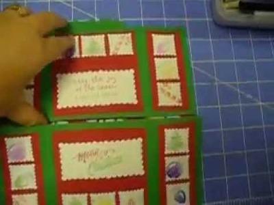 Handmade Neverending Christmas Card