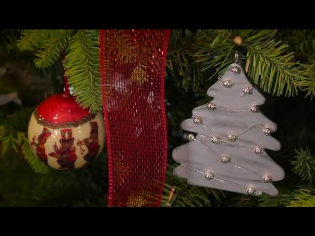 Handmade Silver Tree : Christmas Tree Decorations & Tips