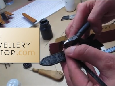 Hermès watches: how the perfect leather watch strap is made