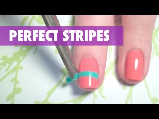 How To: Create Perfect Stripes On Your Nails