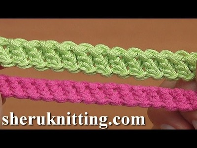 How to Crochet Romanian Point Lace Cord Tutorial 94