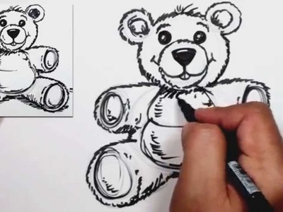 How to Draw a Teddy Bear - MAT