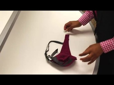 How to Fold Bras : Fashion Topics