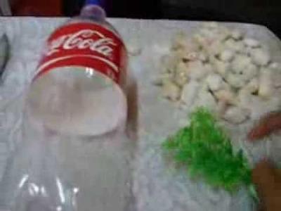 How to make a bottle aquarium.