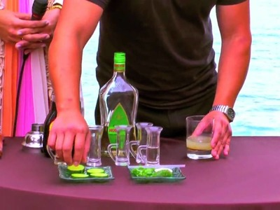 How to make a Cucumber Margarita