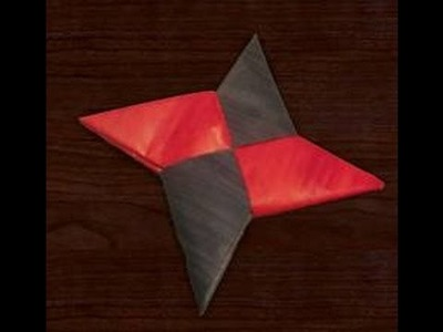 How To Make a Paper Ninja Star Easy-Fast