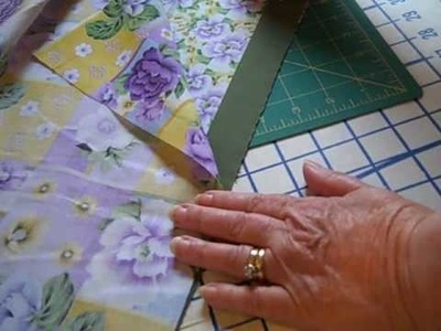 How to make a pillow case -1