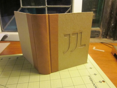 How to Make a Traditionally-Bound Book with Slipcase Without Special Equipment Pt. 6