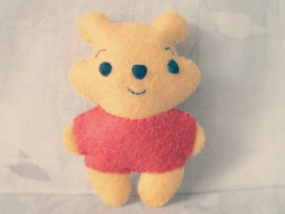 How To Make A Winnie The Pooh Plushie Tutorial