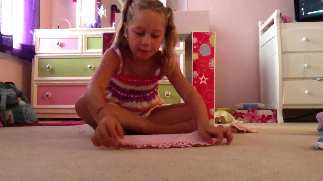 How to make an ag doll bunk bed